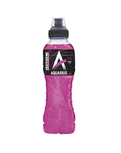 12 x Aquarius Sport Isotonic Cherry PET-Flaschen (12 x 0,5 L) EINWEG inkl. gratis FiveStar Kugelschreiber