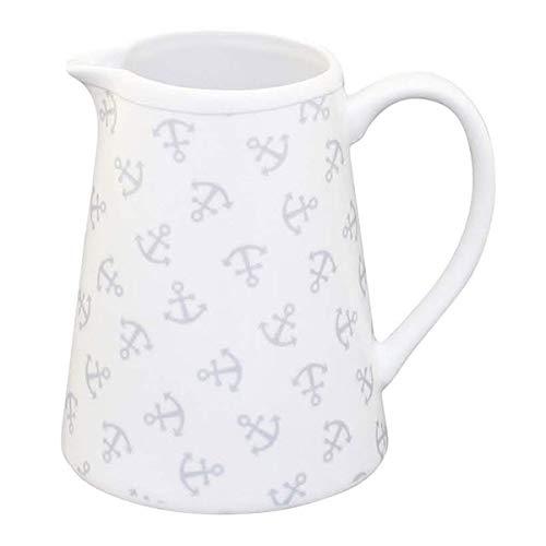 Krasilnikoff - Milchkännchen - Anker - Porzellan - Höhe: 9,5 cm - 220 ml