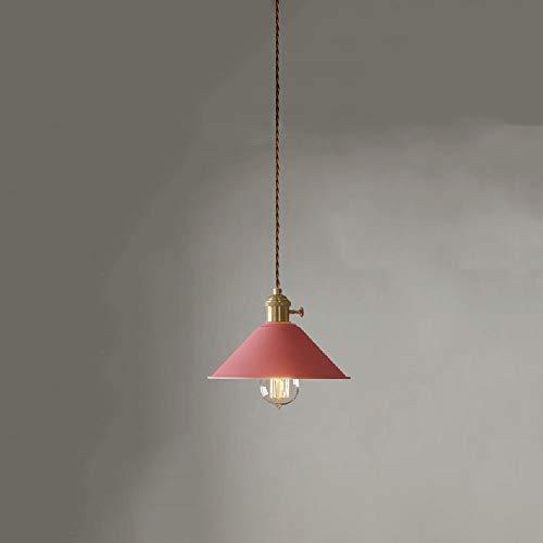 Moderne Macaron hanglamp van metaal, in hoogte verstelbaar, E27-stopcontact met hoge helderheid, restaurant, kleurrijk, kleine kroonluchter voor bar, café, woonkamer, keuken (kleur