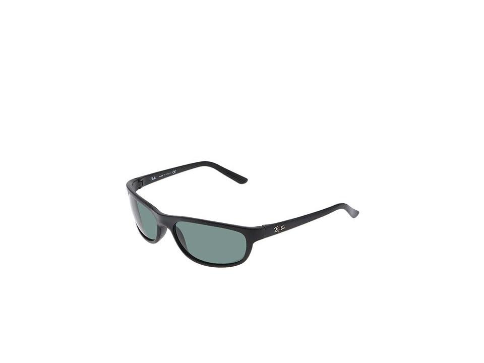 Ray-Ban 4114 (Matte Black/Grey Green Lens) Fashion Sunglasses