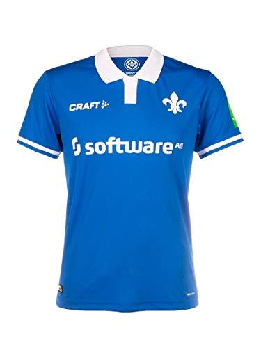 Craft Darmstadt 98 Damen Heim Trikot blau SV98 Home Shirt Fan Jersey Frauen, Größe:L