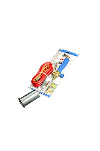 Abflammgerät kurzes Modell Brenner 50 mm Schlauch 1,5 m