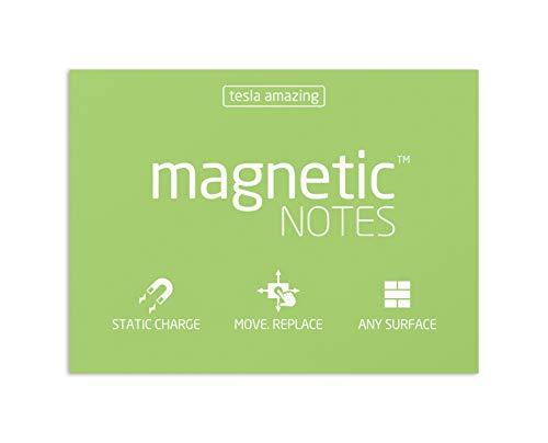 Elektrostatisch selbstklebende Haftnotiz - Tesla Amazing - Magnetic Notes - 10x7cm - Mint - 100 Blatt
