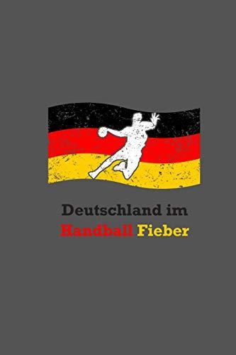Deutschland Im Handball Fieber: A5 Handball Kalender   Deutschland Handball Wochenplaner   Handballspieler & Handballspielerinnen Geschenk