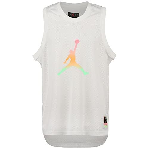 Jordan Sport DNA Camiseta de tirantes para hombre, color blanco/negro, XL (52-54 EU)