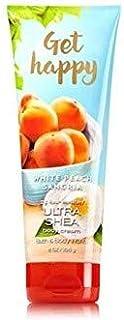 【Bath&Body Works/バス&ボディワークス】 ボディクリーム ホワイトピーチサングリア Body Cream Get Happy White Peach Sangria 8 oz / 226 g [並行輸入品]
