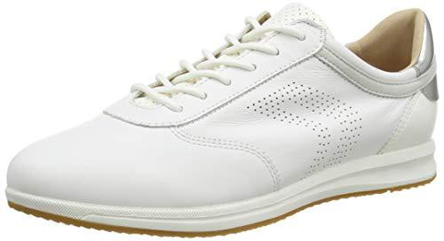 Geox D Avery C, Zapatillas Mujer, Blanco (White C1000), 38 Eu