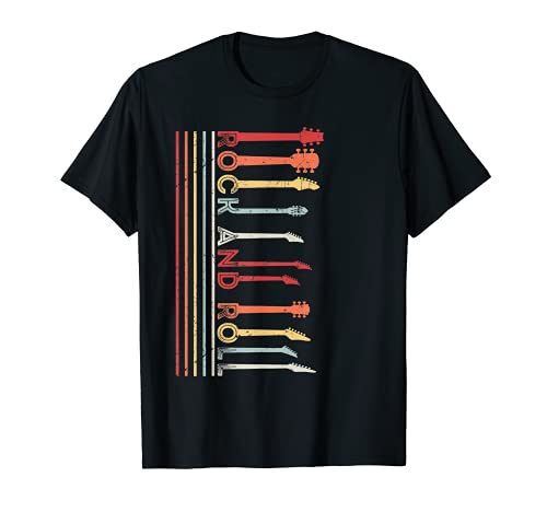 Rock And Roll Vintage Tee For Concert Band, Rock Music Lover T-Shirt