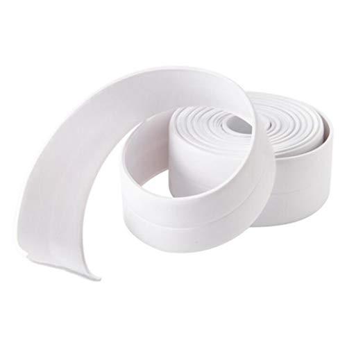 GOMYIE Dichtungs-Streifen-Flexibles selbstklebendes Dichtband wasserdicht für Küchen-Badezimmer-Wannen-Duschboden-Wand-Kantenschutz