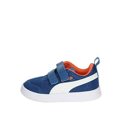 Puma Courtflex v2 Mesh V Inf, Zapatillas, Blue, 26.5 EU