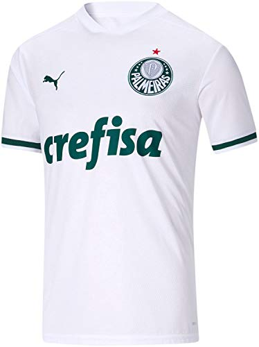 Puma Herren Replica Palmeiras Auswärtstrikot II, Small, Puma White