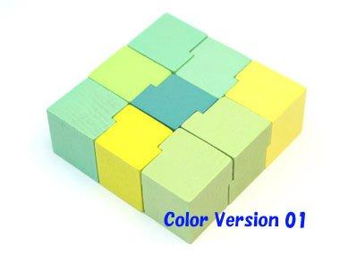 正方形 スライド color 9 ピース  (color 1)