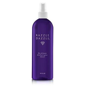 Razzle Dazzle Jewelry Watch & Glass Cleaner Spray Bottle 16 oz.