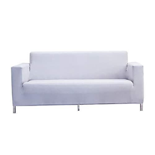 CENPENYA Fundas de sofá elásticas Fundas de Asiento de Sala de Estar Fundas de sofá Fundas con Fondo elástico, Tela Jacquard Gruesa Suave Lavable (Q,4 plazas)