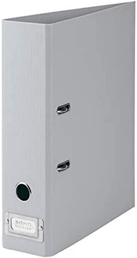 Rössler SOHO 80mm Spine A4 Lever File H Fort Worth Mall with Index Japan Maker New Metal Arch