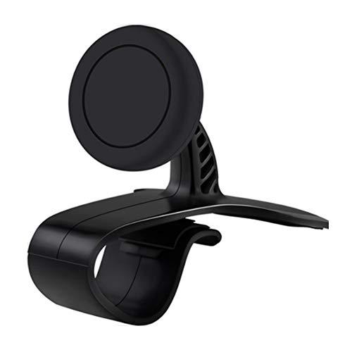 Rrunzfon Soporte Magnético para móvil Puerta móvil Universal Ventosa Universal para Tablet y GPS Negro