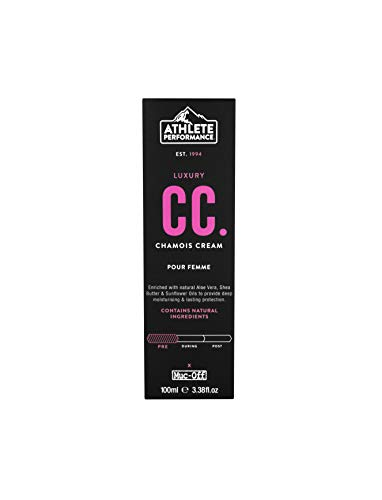 Muc Off Damen Women's Cream-100ml 364 Athlete Performance Chamois Cream, 100 ml