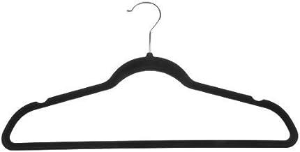 AmazonBasics Velvet Suit Hangers - Black (Set of 30)