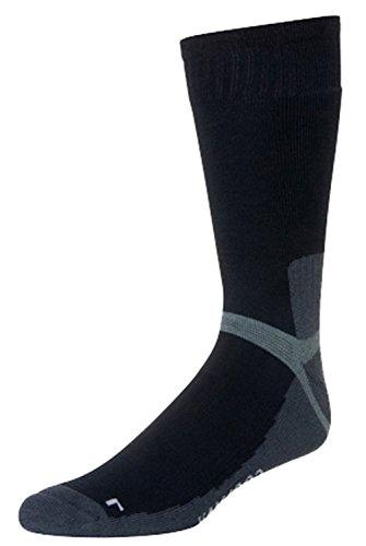 Thibet Wandersocken Hiking Socks, Farben alle:schwarz, Größe:44-47