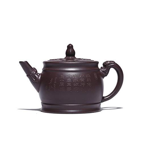Theepot erts Yixing paarse klei thee bloempot creatieve stukken van oude lichten theepotten voor kachel Top Purple Mud