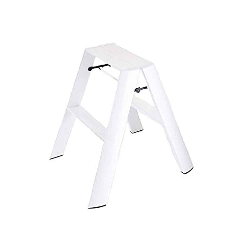 大腿分解する狂気metaphys メタフィス/lucano ルカーノ|脚立 [おしゃれ] 2ステップ / ホワイト■脚立 [おしゃれ] はmetaphis メタフィス/l…