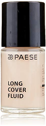 Paese Cosmetics Long Cover Fluid Foundation, Shade Number 00 30 ml by Paese Cosmetics