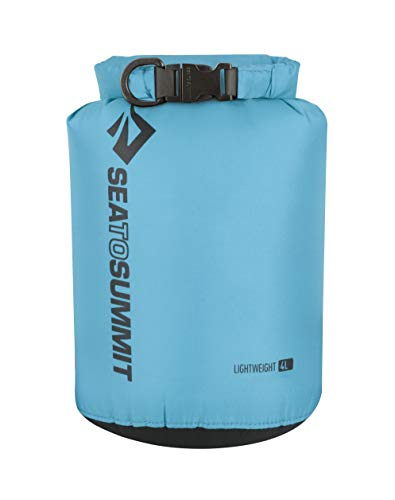 Sea to Summit Lightweight 70D Dry Sack-4 litros Saco Montañismo, Alpinismo y Trekking, Adultos Unisex, Azul (Blue), Talla Única