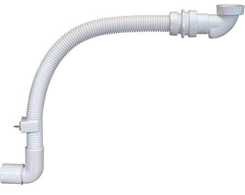 Siphon Set Raumsparsiphon mit flexiblem Ablaufschlauch