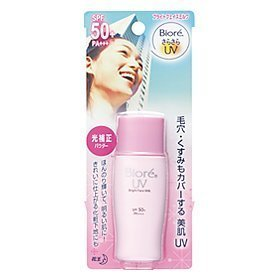 Biore Uv Perfect Face Milk Spf 50 Pa+++ Lotion Sunscreen Pink Make up Base Amazing of Thailand