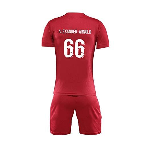 GAOZHENZHEN Trent Alexander Arnold-# 66 de Cuello Redondo de la Camiseta de Manga Corta Jersey Conjunto de los Hombres de Fútbol Fan de (Color : Red, Size : 2XL)
