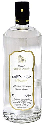 Zwetschgen Brand, Original Drexler Arrach, Obstbrand aus dem Bayerischen Wald, 0,7l.