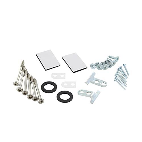 DL-pro Kit de montaje de puerta para Bosch Siemens 00618833 618833 618833 Kit de montaje para puerta exterior integrada lavavajillas