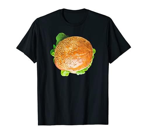 Disfraz de hamburguesa Halloween Hamburguesa Carne de Carne de Carne de Carne de Camiseta