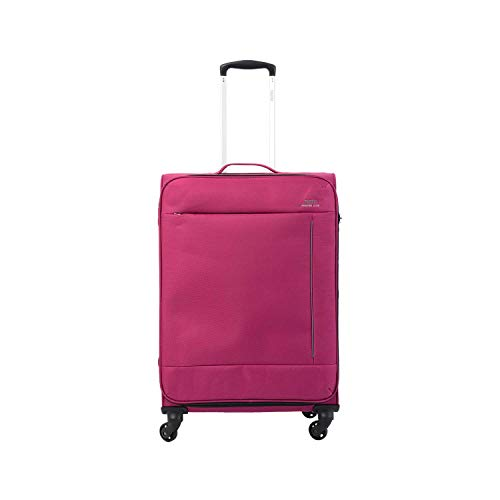 Totto-Maleta 4 Ruedas Mediana Color Fucsia - Travel Lite