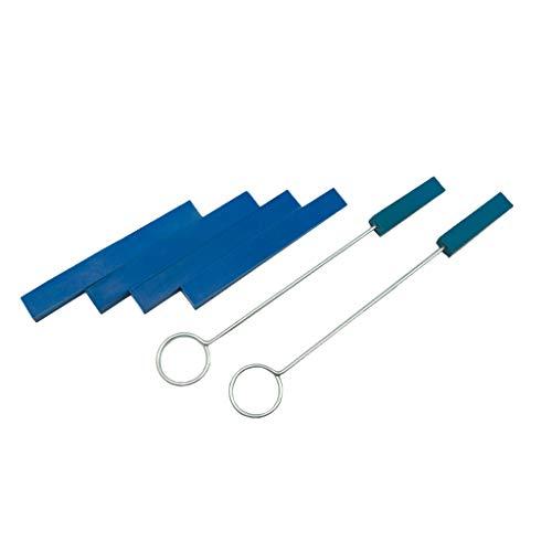 B Blesiya - Juego de herramientas para afinación de piano (6 unidades)