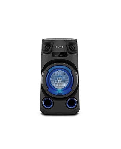 Sony MHC-V13 - Altavoz de Fiesta Bluetooth® Potente y Compacto con iluminación Multicolor