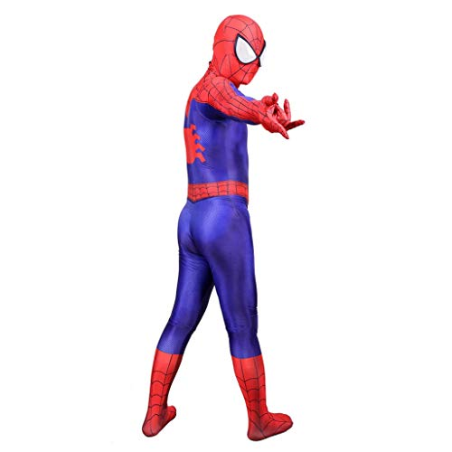 Volwassen kinderen Mens Spiderman Movie Superhero Cosplay kostuum pak Masquerades Fancy Dress Stage Tights Turnpakje Set SPIDERSYBB