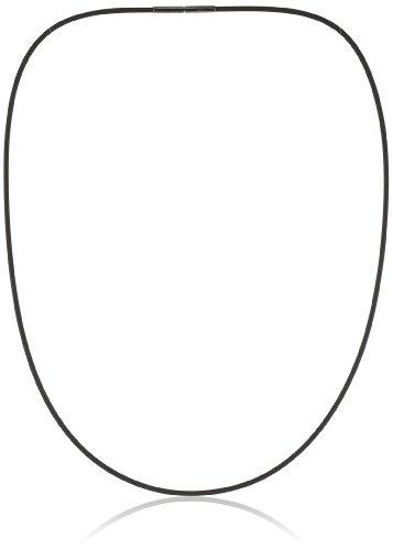 Boccia Damen-Collier Kautschuk Schw. 0801-0150