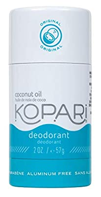 Kopari Aluminum-Free Deodorant | Non-Toxic, Paraben Free, Gluten Free & Cruelty Free Men's and Women's Deodorant | Made with Organic Coconut Oil | 2.0 oz