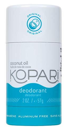 Kopari Aluminum-Free Deodorant Original | Non-Toxic, Paraben Free, Gluten Free & Cruelty Free Men's and Women's Deodorant | Made with Organic Coconut Oil | 2.0 oz