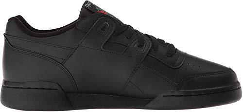 Reebok Herren Workout Plus Sneaker, Schwarz, 43 EU
