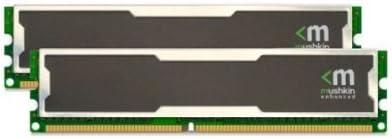 Mushkin Inexpensive Silverline Easy-to-use 996754 2GB DDR-400MHz 2x1GB Desktop PC3200