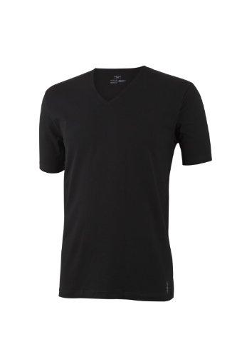 IMPETUS T-Shirt Camiseta, Negro, XXL para Hombre