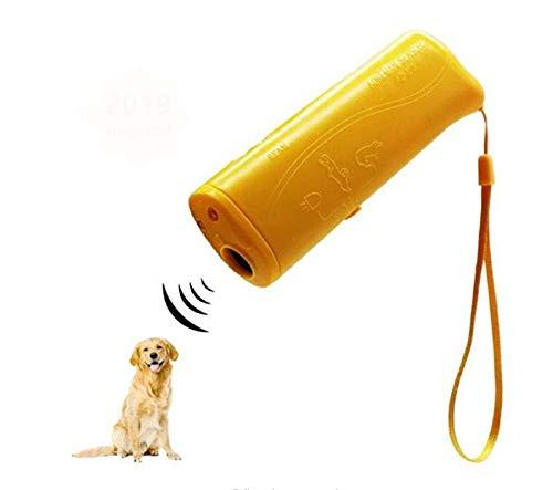 Dispositivo Antiladridos 3 En 1 Repelente De Perros para Mascotas Dispositivo Antiladridos para Entrenamiento De Perros Sin Batería para Entrenamiento De Perros para Dejar De Ladrar A