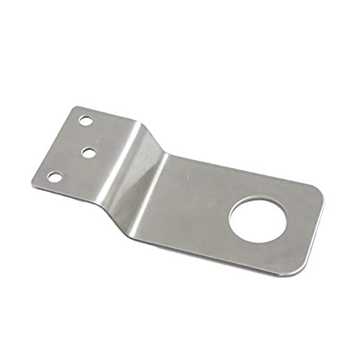 UngSung NMO Antenna Bracket 3/4 inches Hole Stainless Steel for UHF VHF Ham NMO Antenna Mount Between Hood and Fender