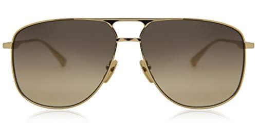 Gucci GG0336S-001 Occhiali da Sole, Oro, 60.0 Uomo