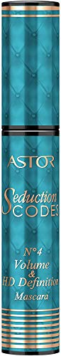 Astor Seduction Codes No. 4 Volume & HD Definition Mascara, 800, Black (schwarz), 1er Pack (1 x 11 ml)