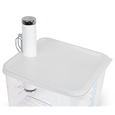 Cellar Made Sous Vide Lid for ChefSteps Joule fits 12, 18 & 22 Quart Rubbermaid Containers