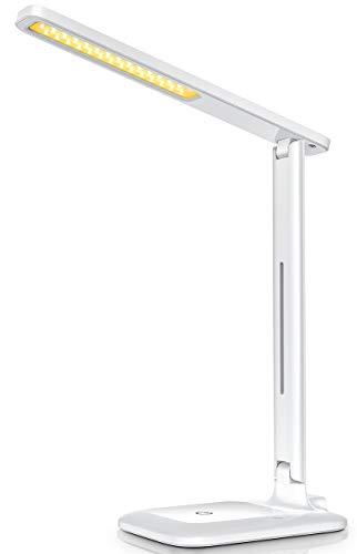 VicTsing Lampara Escritorio 42 LED Brillante, Flexo Escritorio LED Flexible con 3...