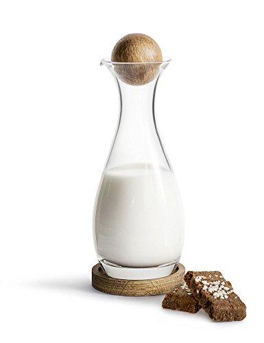 Sagaform 5017733 Milchkaraffe, Glas, 10 Fluid_Ounces, Mehrfarbig
